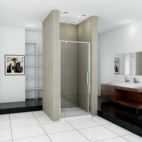 Pivot Shower Door Hinge Shower Screen Panel Tray Waste 700/760/800/900/1000mm