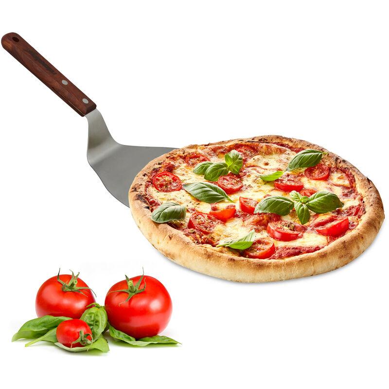 Edelstahl Pizzaschaufel Pizzaheber Pizzawender Ofen Brotschieber Steak P//D