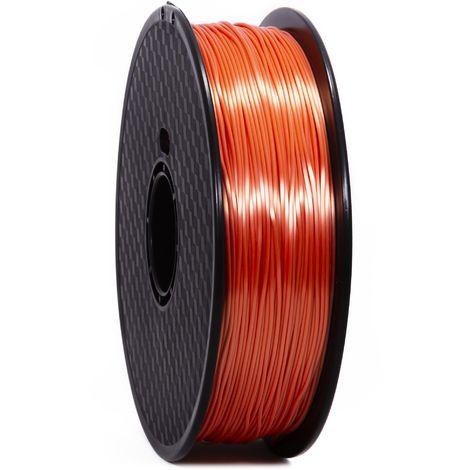 PLA SOIE ORANGE PREMIUM WANHAO - 1.75MM, 1 KG - Filament pour imprimant 3D