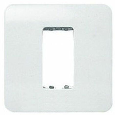 Placa 1 ventana 1 módulo blanco Niessen Stylo 2271.1 BA