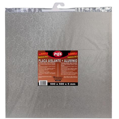 Placa Aislante Fibra Roca+Alum 50X50 Cm - PQS - 1304727..