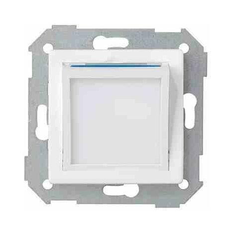 Placa basculante orientable haz luminoso para la baliza de cortesía blanco Simon 82036