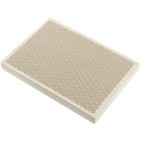 Placa de calentamiento de tarjeta de nido de abeja de cerámica de soldadura 135X95X13Mm Hasaki