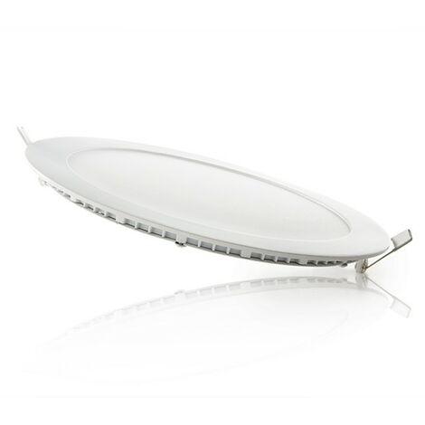 Placa de LEDs Ø225Mm 18W 1409Lm 30.000H Circular | Blanco Natural (JL-GP-LZ-3-M-CW)