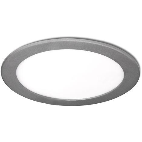 Placa de LEDs Circular Ecoline 295M 25W 2000Lm 30.000H Plata