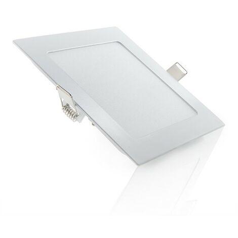 Placa de LEDs Cuadrada Ecoline 9W 720Lm 30.000H