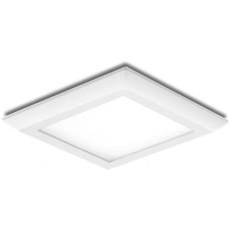 Placa de LEDs Cuadrada Style 108 X 108Mm 6W 470Lm 30.000H