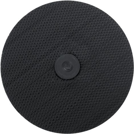 Placa de soporte adhesivo Velcro 125mm/M14 m. Zent. 3M