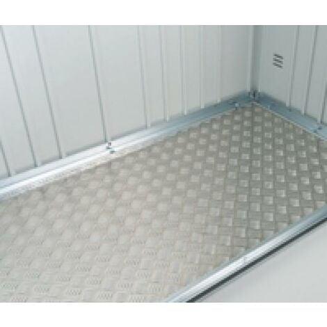 Placa De Suelo De Aluminio Para Minigarage Metalico Biohort