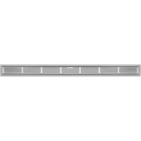 Placa desagüe Roca In-Drain PLATE X2 rejilla adaptable a In-Drain Channel 950x50mm