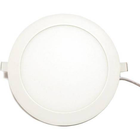 Placa downlight LED 20W 1500LM empotrable circular
