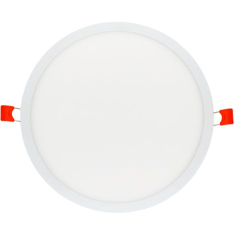 Placa downlight led ajustable circular 22w