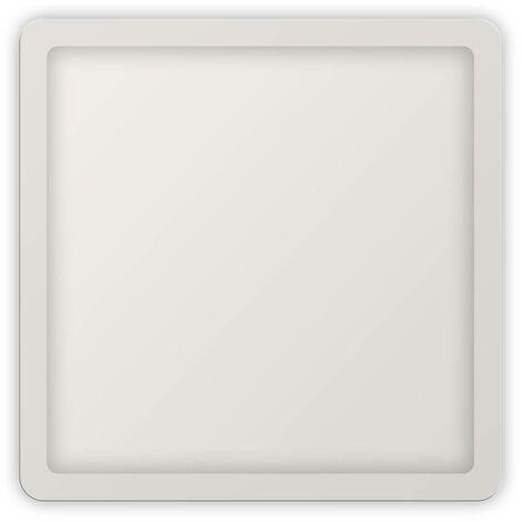 Placa downlight LED cuadrado empotrable de diámetro ajustable 20W