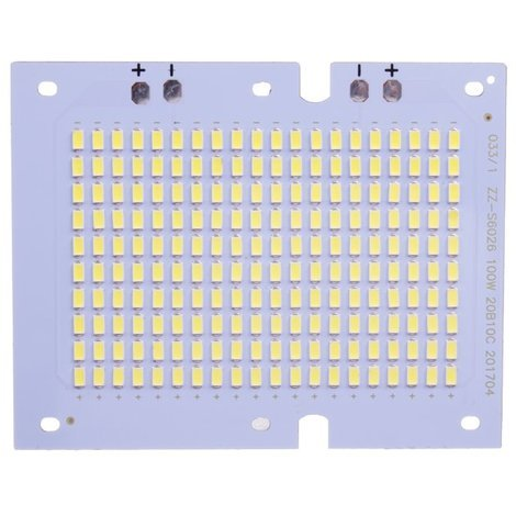 Placa LED 100W 200 led SMD5630 6000K recambio proyector