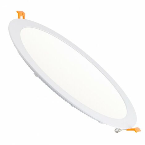 Placa LED Circular SuperSlim 24W Corte Ø 290 mm