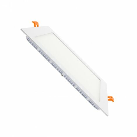 Placa LED Cuadrada SuperSlim 18W Corte 205x205 mm