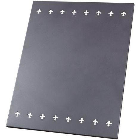 Placa Metalica Proteccion Pared - Juan Panadero