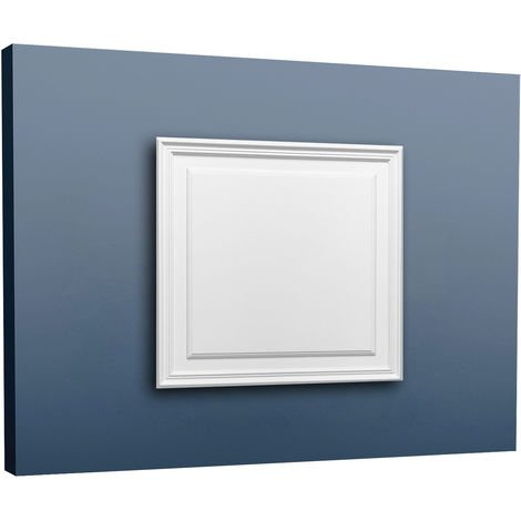Placa para puerta aplanada Orac Decor D503 LUXXUS Panel para pared y puerta Elemento decorativo blanco