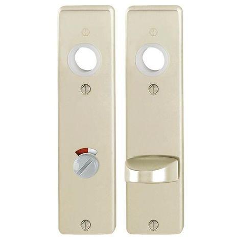 Placa puerta 202KP 8/78mm WC F2