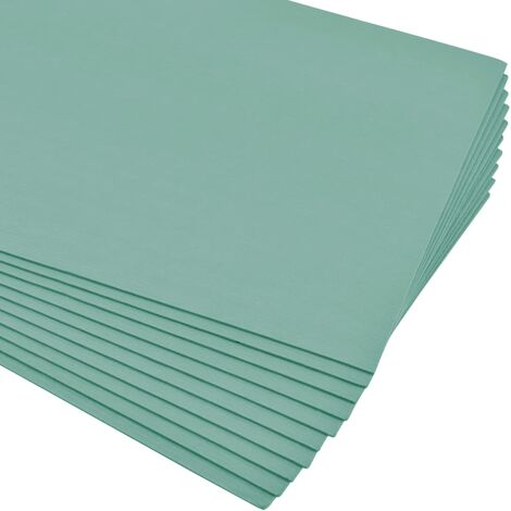 Placas aislantes de espuma XPS 5 mm 100x50 cm verde 10 m²