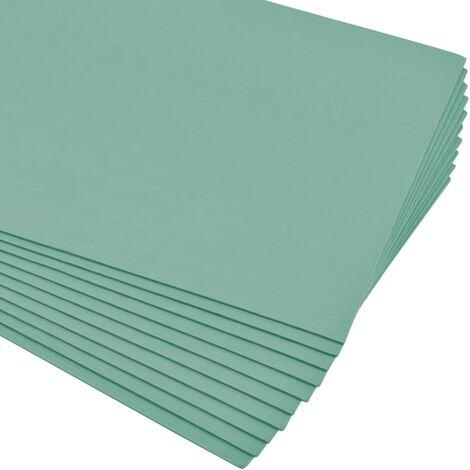 Placas aislantes de espuma XPS 5 mm 100x50 cm verde 20 m²