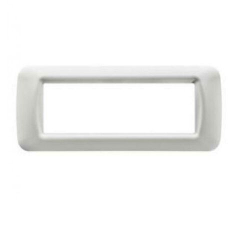 PLACCA 6 POSTI COLORE BIANCO NUVOLA TOP SYSTEM GW22506