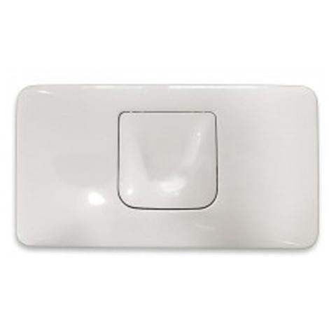 Placca di azionamento GROHE piastra di scarico bianca 1 pulsante cod. 37054SH0 Colani