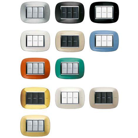 Placca Placchetta Placchette Compatibili Per Serie Axolute