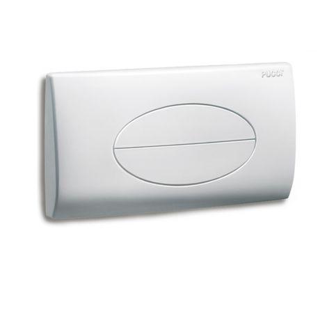 Placca scarico cassetta incasso sara bianca 80006910 pucci sostituisce 6710