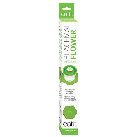 Placemats Alfombrillas para Bebederos y Comederos Catit - Verde Flower