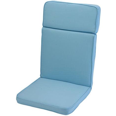 Placid Blue High Recliner Cushion Outdoor Garden Furniture Cushion