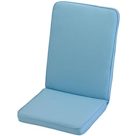 Placid Blue Low Recliner Cushion Outdoor Garden Furniture Cushion