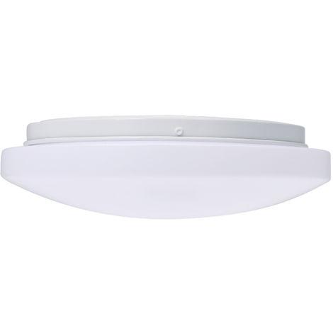 Plafon de induccion LED, luz de pasillo, 220V, 12W, distancia de induccion 3-8 metros