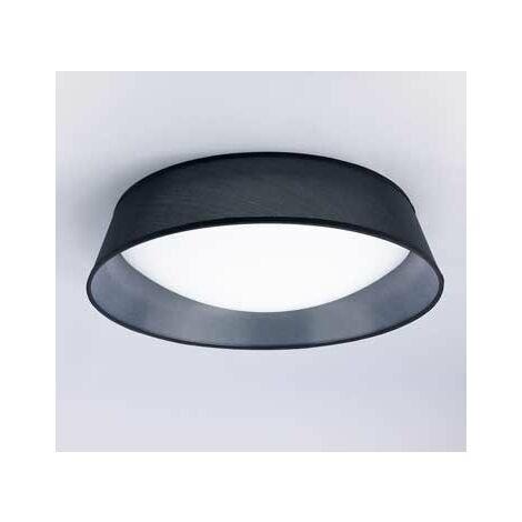 Plafón de superficie 5 Luces x E27 negro Nórdico 59 CM