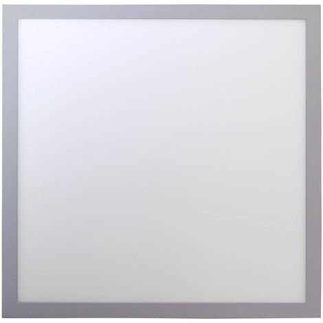 Plafón de superficie LED cuadrado, 24W, 120º, 2100 lúmenes, 4000K, blanco neutro, IP20. No regulable.