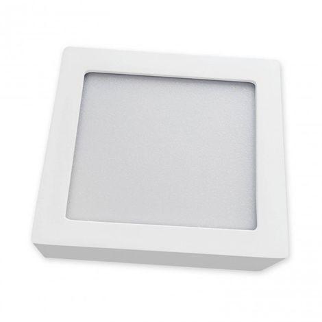 Plafón de superficie LED cuadrado 30CM 24W 4000K