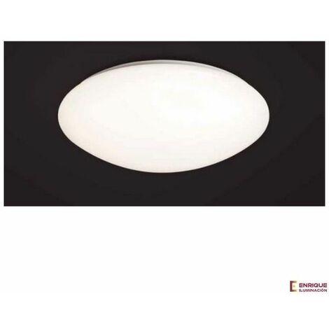 Plafón de techo blanco para salón Zero E.27 | 77 cm
