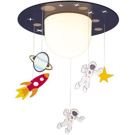Plafón de techo infantil Astronautas