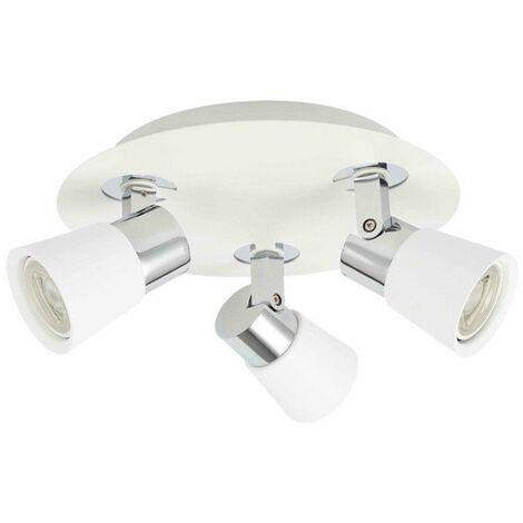 Plafón de techo Iris (3 luces)