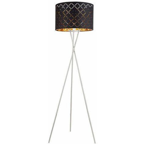 Plafón de techo Lámpara de pie de sala de estar remota con control remoto regulable con bombillas LED RGB