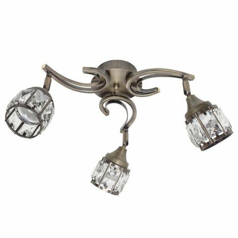Plafón de techo LED Catania (3 luces)