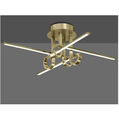Plafón de techo LED Cinto original | 42W Cromo