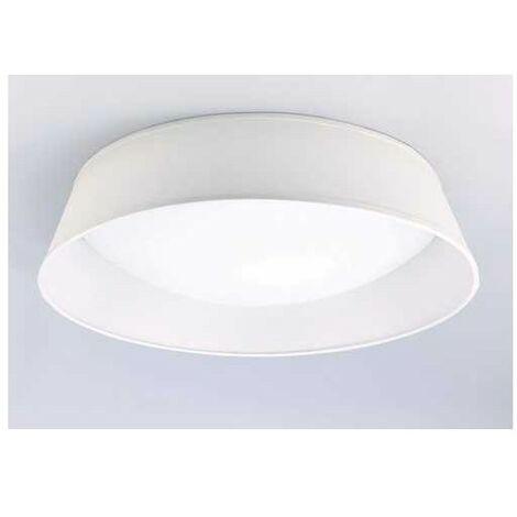 Plafon de techo modelo NORDICA 5 luces con pantalla blanca