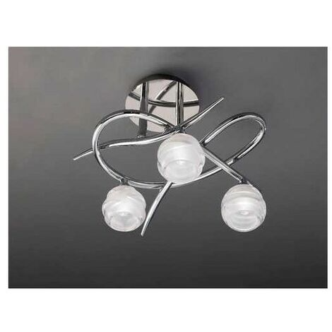 Plafon decorativo de 3 Luces LOOP de Mantra
