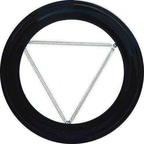 Plafón Embellecedor de Color Negro Para Estufa 100 mm - NEOFERR..