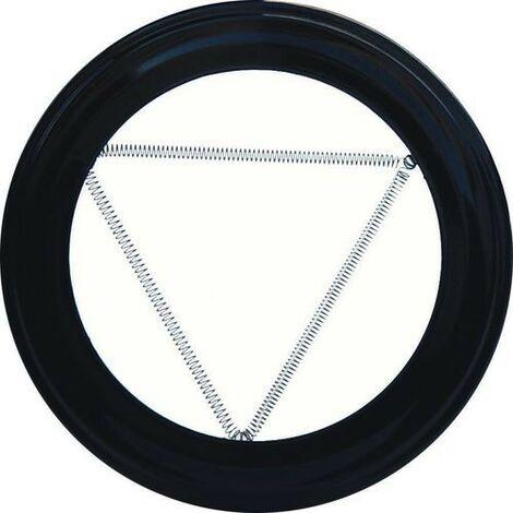 Plafón Embellecedor de Color Negro Para Estufa 120 mm.