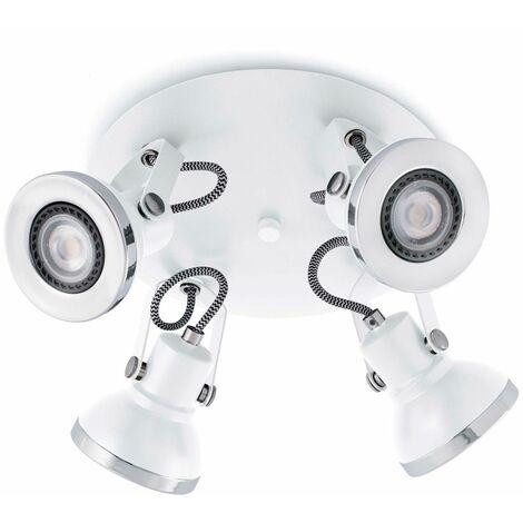 Plafón focos orientables Ring (4 luces)