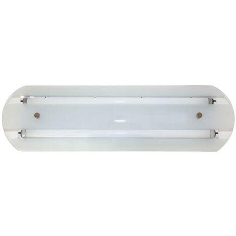 Plafón Jadeite Blanco tubo no Incluido - Blanco