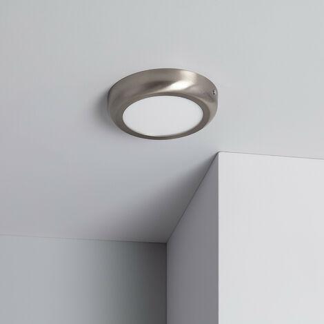 Plafón LED 12W Circular Design Silver