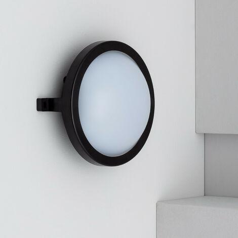 "main image of ""Plafón LED Circular New Hublot 12W Black"""